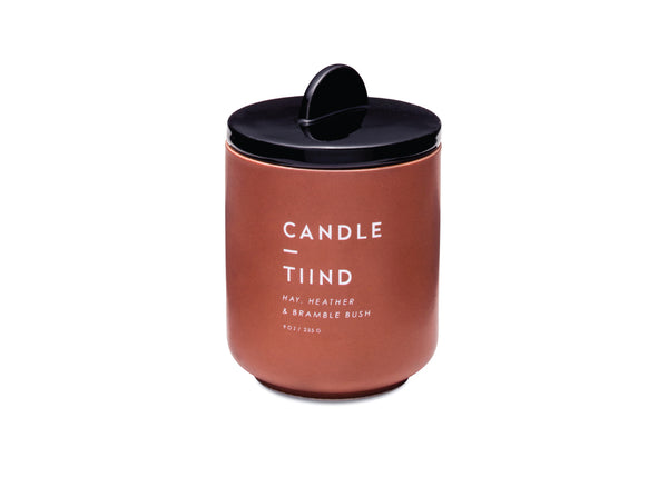 Candle in a Ceramic Vessel - Tiind