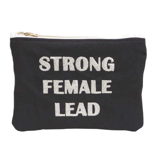 Strong Female Lead Black Clutch