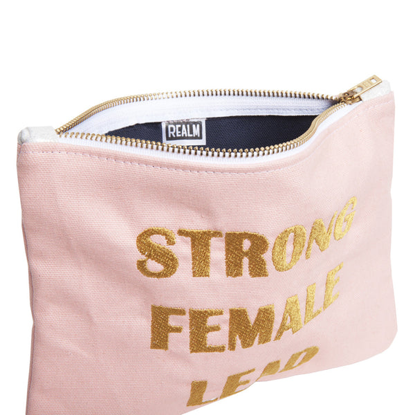 Strong Female Lead Pink Clutch