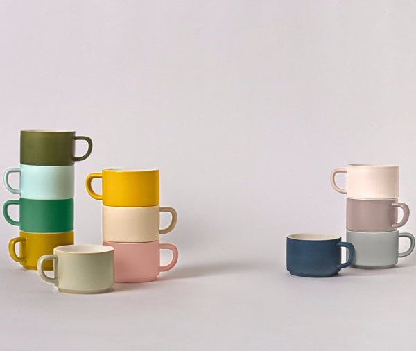 Totem Cups - Nordic Colors
