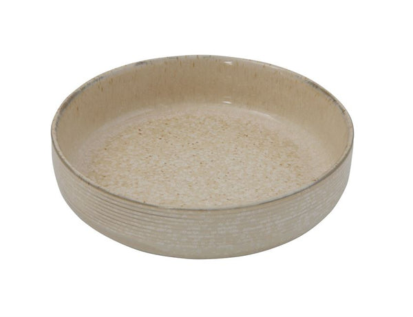 Boho Beige Speckled Bowl