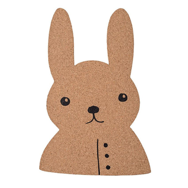 Rabbit Shaped Cork Board