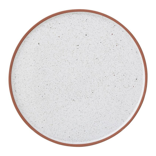 Round Terra Cotta Evelyse Plate