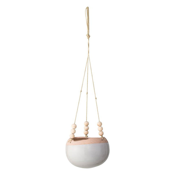 Bloomingville Hanging Flower Pot Boho Scandinavian