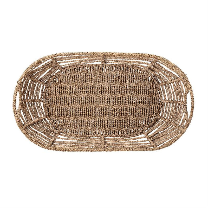 Natural Seagrass Basket w/ Handles