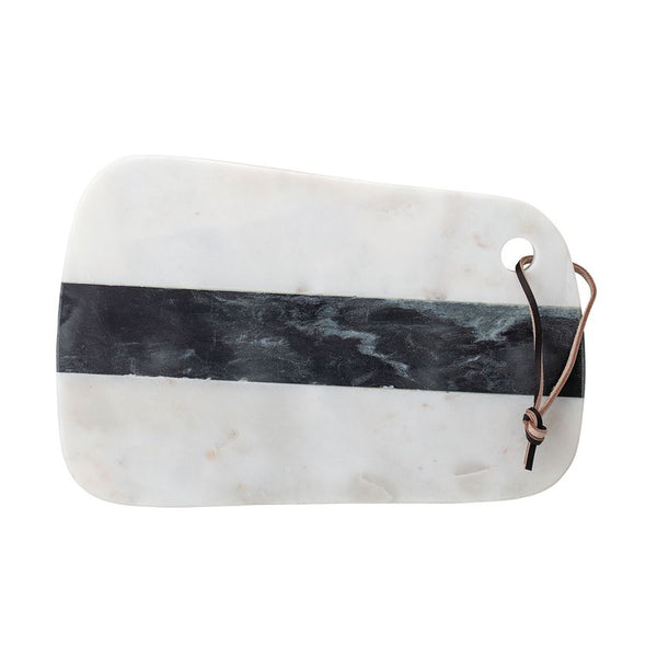 Marble White & Black Tray/Cutting Board