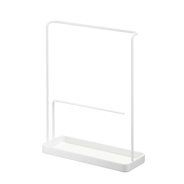 Tower Accessory & Glasses Stand White