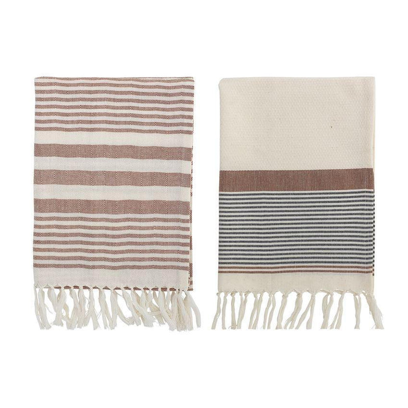 Kitchen Towel, Multi-color, Cotton - 2 pack