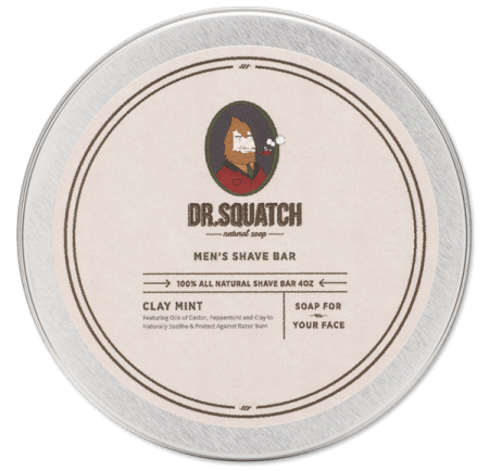 Dr. Squatch - Shave Bar - Clay Mint
