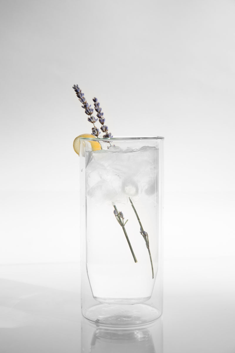 YIELD - 16 oz Double-Wall Clear Glass Set