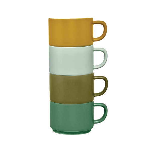 Totem Cups - Forest Colors