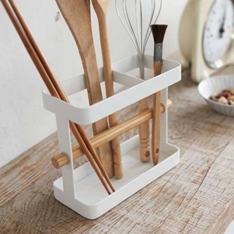 Tosca Wide Tool Stand White