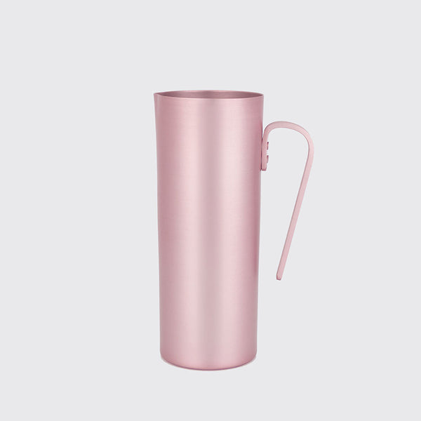 Matte Rose Alumminium Pitcher