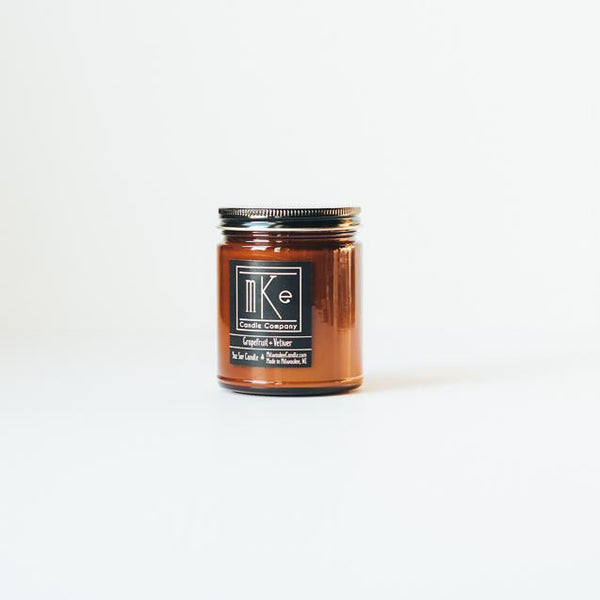 Grapefruit + Vetiver Soy Candle