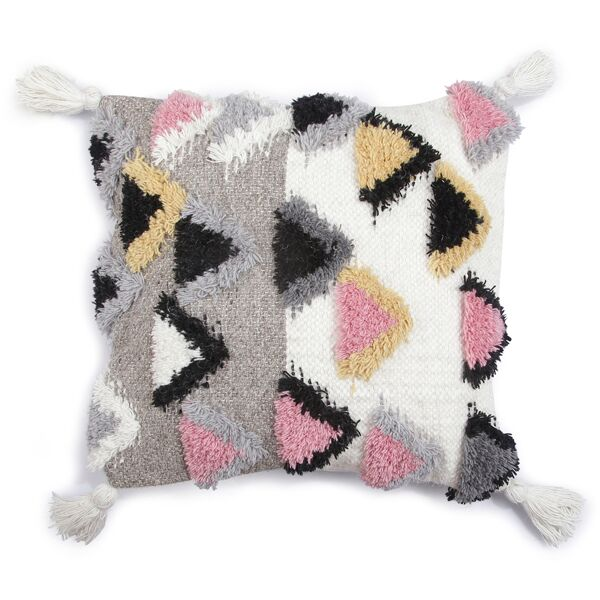Alia Accent Cushion, Grey