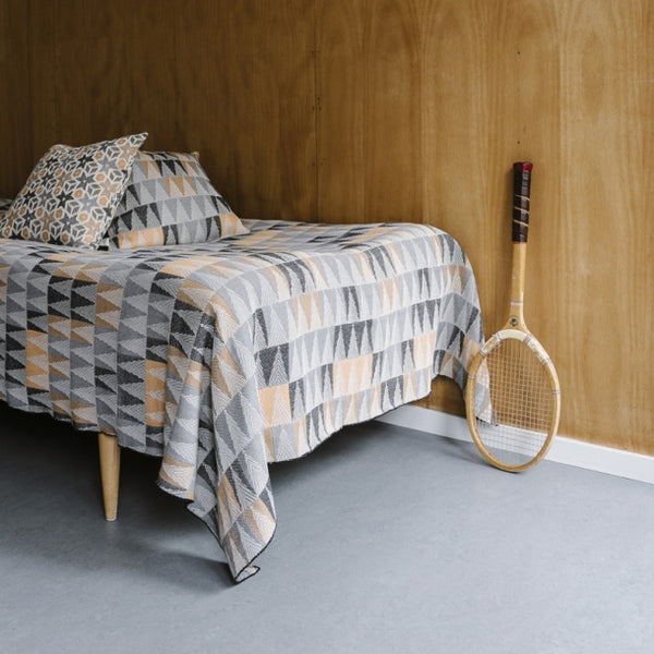 Tiny Bedspread - Fir Fir Forest - Orange