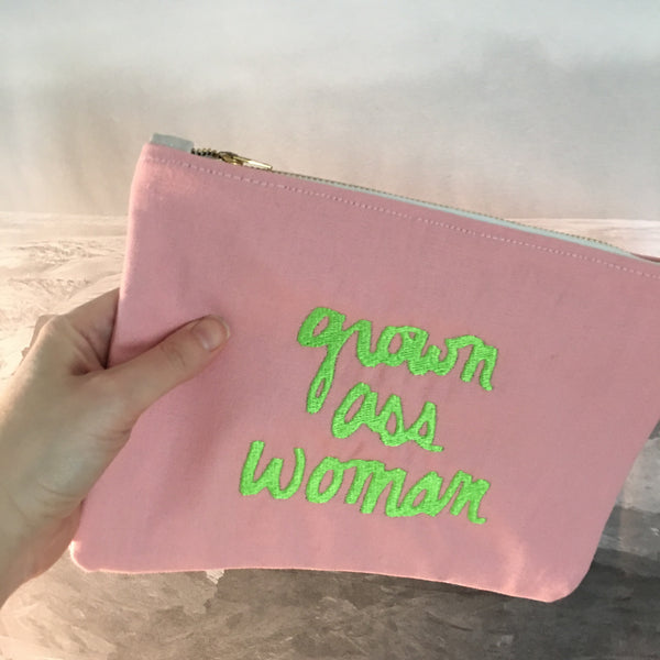 Grown Ass Woman Clutch