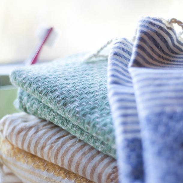 Wrapper's delight - Fouta -  Frizzy not fuzzy / Green