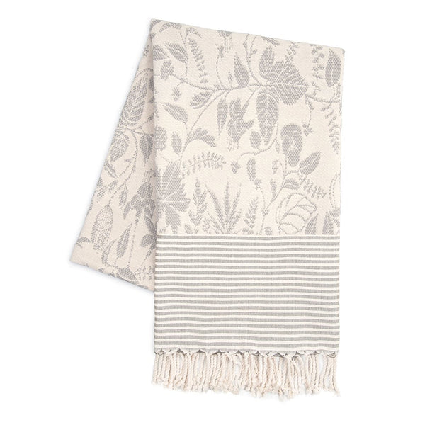 Blanket - Lit de la fleur / Light Grey
