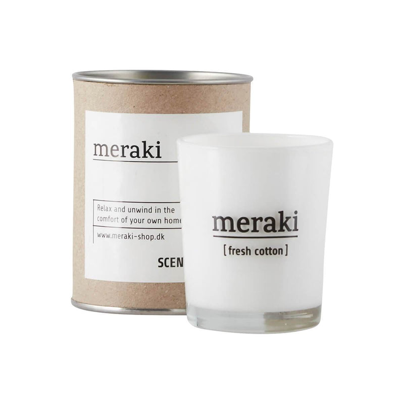 Scented Candle - Fresh cotton