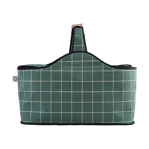 Cooling Bag, Green Check