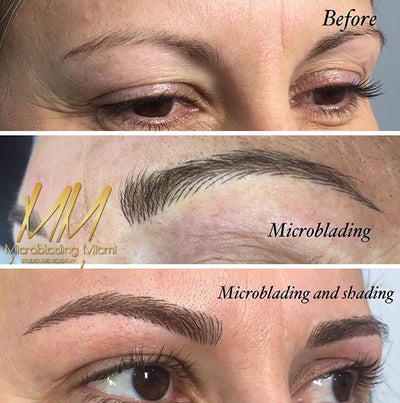 Eyebrow Microblading Is The Latest Hair-Raising Eyebrow Trends