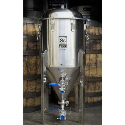 1 2 Barrel Chronical Fermenter   pilot brewing supply.myshopify.com