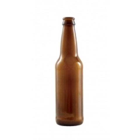 Case of 24 Beer Bottles   12 oz Amber Longneck   pilot brewing supply.myshopify.com