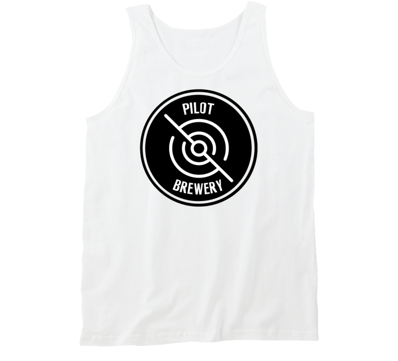 Pilot Brewery Tanktop   pilot brewing supply.myshopify.com