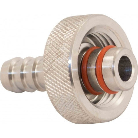 Hose Barb | 3/8 in to 1/2 in FPT Knurl