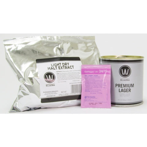 Premium Lager - No Boil Kit