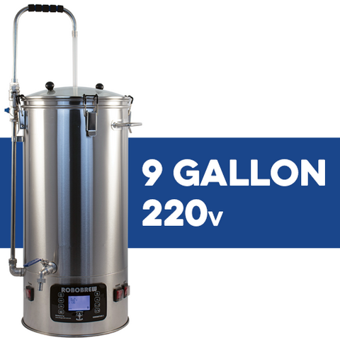RoboBrew BrewZilla V3.1.1 All Grain Brewing System With Pump - 35L/9.25G (220V)