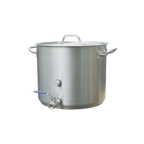 8 Gallon Stainless Heavy Duty Brew Kettle   pilot brewing supply.myshopify.com