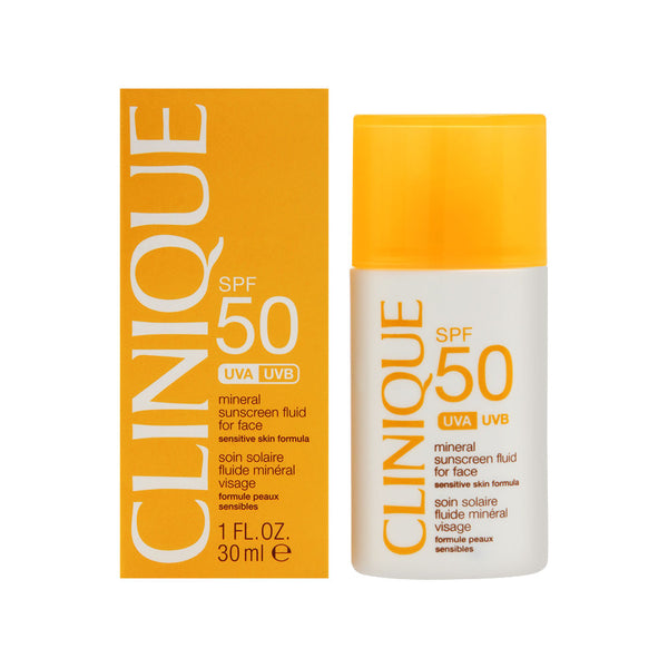 Clinique SPF 50 Mineral Sunscreen Fluid For Face 30ml/1oz