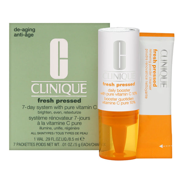 Clinique Fresh Pressed 7-Day System with Pure Vitamin C 5g/0.01oz x 7 Packets