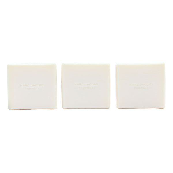 Marc Jacobs by Marc Jacobs for Women 3 x 25g Scented Soap Trio