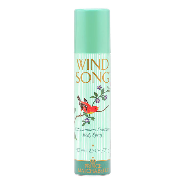 Wind Song For Women by Prince Matchabelli 2.5 oz Extraordinary Body Spray