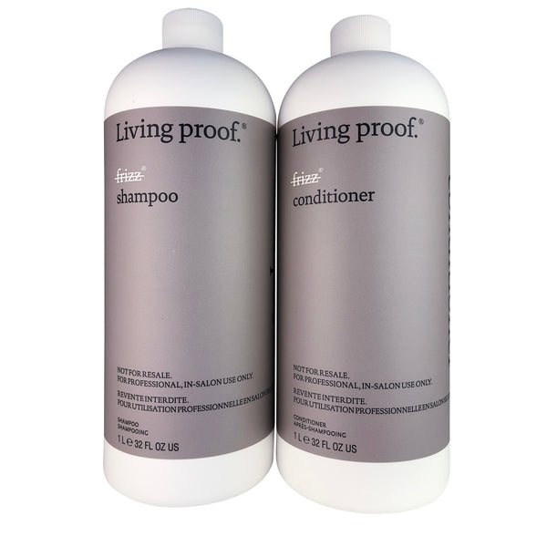 Living Proof No Frizz Shampoo & Conditioner Duo 32 oz