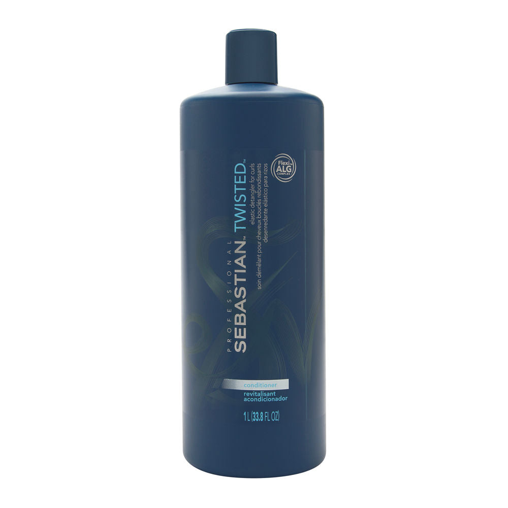 Sebastian Twisted Elastic Detangler Conditioner for Curls 33.8 oz (1 Liter)