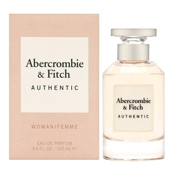 Authentic For Women by Abercrombie & Fitch 3.4 oz Eau de Parfum Spray