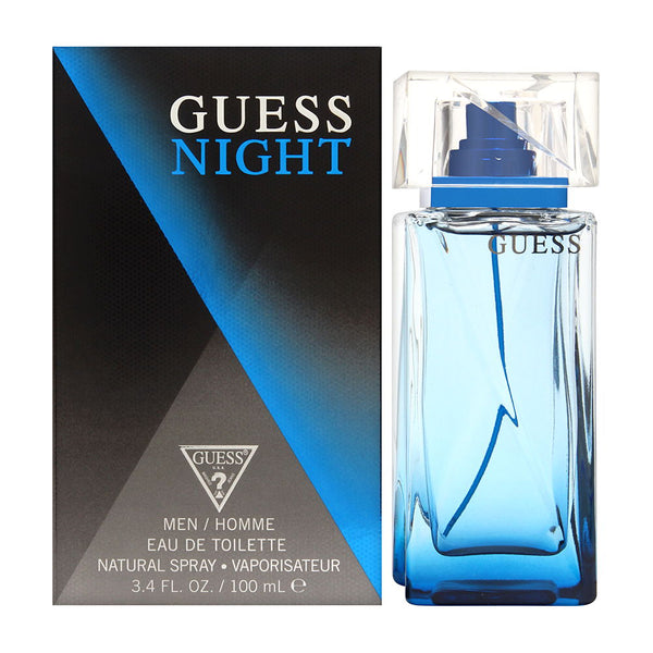 Guess Night for Men 3.4 oz Eau de Toilette Spray