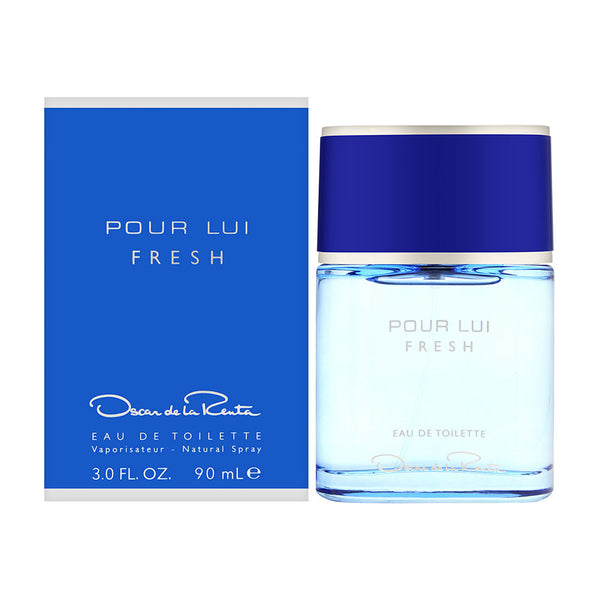 Oscar Pour Lui Fresh by Oscar de la Renta for Men 3.0 oz Eau de Toilette Spray