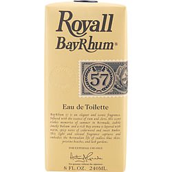 Royall BayRhum 57 by Royall Fragrances for Men 8.0 oz Eau de Toilette Spray