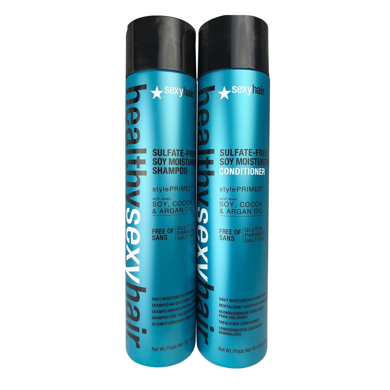 SexyHair Healthy Smooth Moist DUO 10.1 oz each