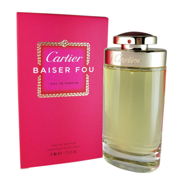 Cartier Baiser Fou for Women by Cartier 2.5 oz Eau De Parfum Spray