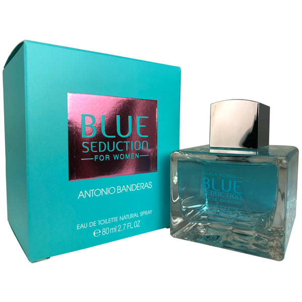 Blue Seduction for Women by Antonio Banderas Eau De Toilette 2.7 oz.