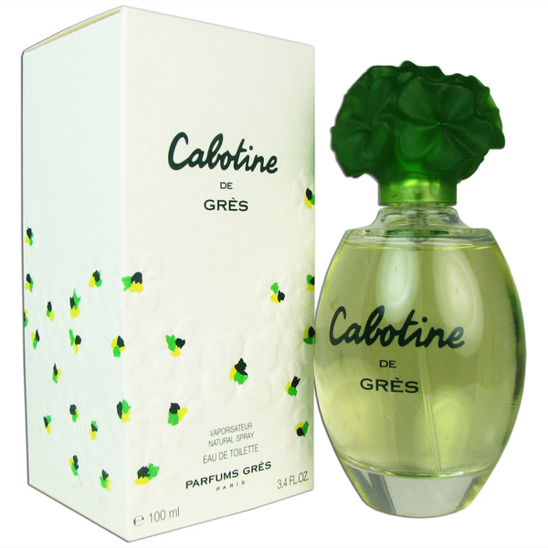 Cabotine for Women by Gres 3.4 oz Eau de Toilette Spray
