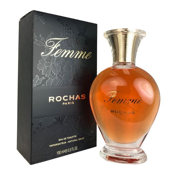 Rochas Femme for Women 3.4 oz Eau de Toilette Spray