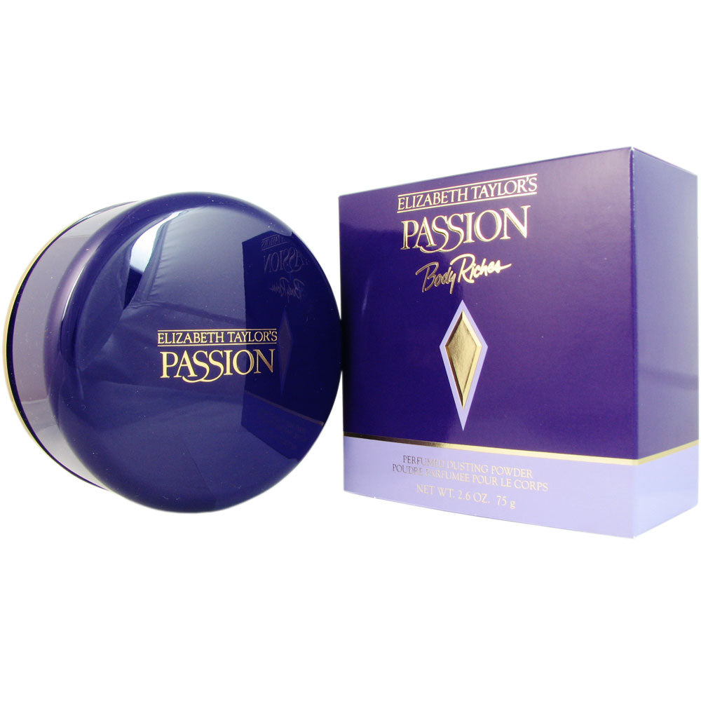 Passion Women by Elizabeth Taylor 2.6 oz Body Powder