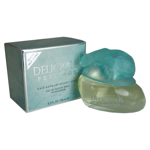 Gale Hayman DELICIOUS FEELINGS Eau De Toilette Spray (New Packaging) for Women 3.4 oz